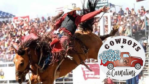Cowboys & Carnations - Red Lodge Rodeo Association