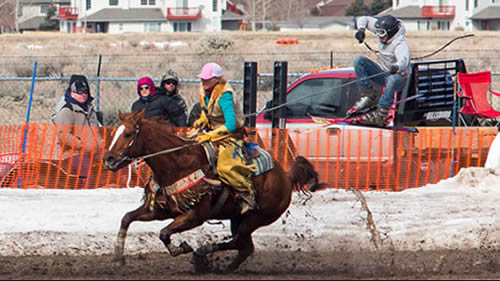 National Finals Ski-Joring Races